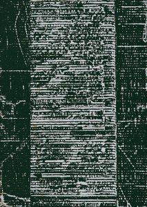 »Schriftlich 1« Wellpappe-Druck, 65 x 46 cm