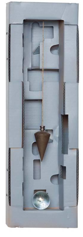 »Das Pendel«, Fundstücke, 17 x 51 cm