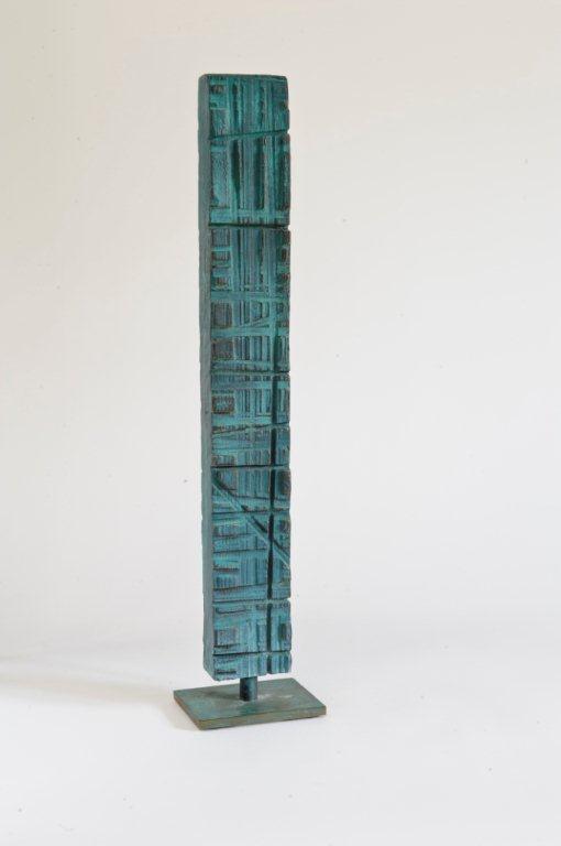 »Kleine Stele«, Bronze, H: 50 cm