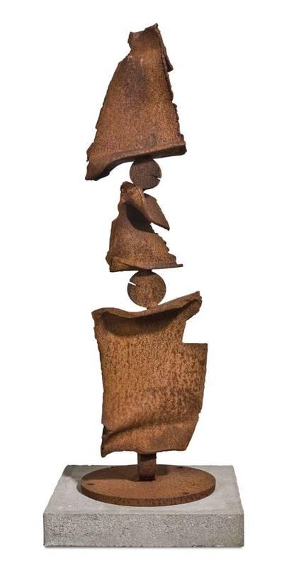 »Pflanze empor«, Eisen, H: 90 cm