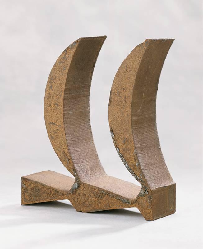 »Doppelfeder«, Eisen, H: 29 cm