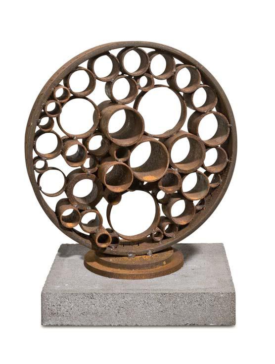 »Blüte«, Eisen, H: 47 cm