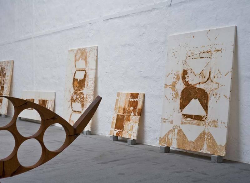 »Eisenzeit«, Rauminstallation, Flottmannhallen Herne, 2009