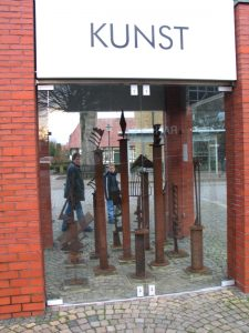 Keimzelle Kunst, Ostbevern, Peer Christian Stuwe: »Haltestelle«, Rauminstallation
