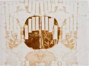 »Turin 2«, Eisen auf Tuch, 150 x 110 cm