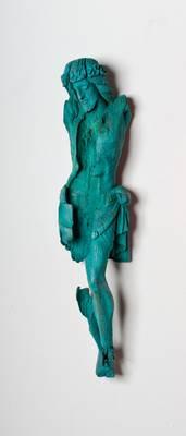 »Corpus 1«, Fundstück, Bronze, H:85 cm